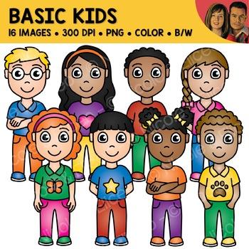 Basic Kids Clipart