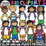 **NEW-Kid Clipart 5 {Diverse Kids Clipart}