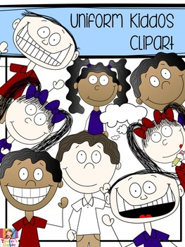 Kid Clipart - Gumbo Uniform Kiddos