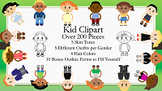 Kid Clipart Set One