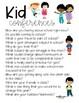 Kid Conferences