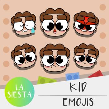 Kid Emojis Clipart