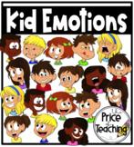 Kid Emotions/Feelings (The Price of Teaching Clipart Set)