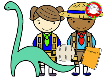 Kid Explorers Clipart (Personal & Commercial Use)
