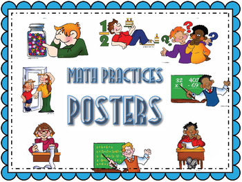Kid-Friedly Math Practice Posters