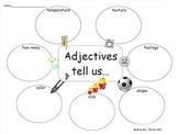 Kid Friendly Adjectives Graphic Organizer