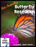 Kid-Friendly Butterfly Research