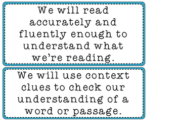 Kid-Friendly CCLS Learning Targets for Grade 3 ELA