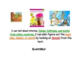 Kid Friendly Common Core Reading Standards for 3rd grade