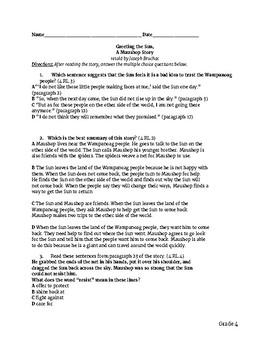NYS ELA Test Prep-Grade 4 Engage NY Kid Friendly Questions