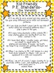 Kid Friendly Ga. Performance Standards-PE Posters