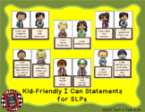 "Kid-Friendly ""I Can"" Posters for Speech-Language Therapists"