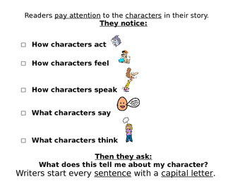 Kid Friendly I can statements for ELA