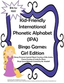 Kid-Friendly IPA Bingo Games [Girl Edition]