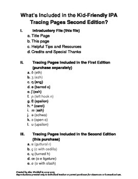 Kid-Friendly IPA Tracing Pages [Second Edition]