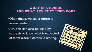 Kid-Friendly Informational/Explanatory Writing Rubric