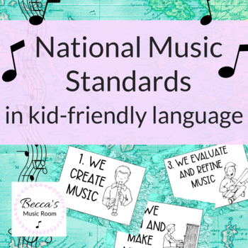 Kid-Friendly Music Standards (NAFME standards) World Map/Travel Theme