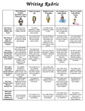 Kid-Friendly Narrative  Writing Rubric
