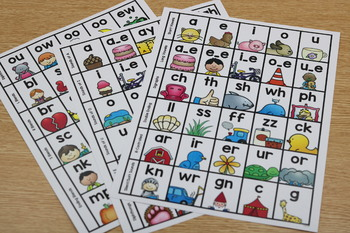 Kid-Friendly Phonics Resource Sheets
