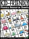 Kid-Friendly Phonics Resource Sheets