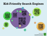 Kid-Friendly Search Engines QR Poster
