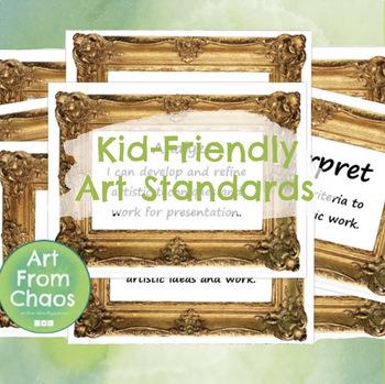 Kid-Friendly Art Standards
