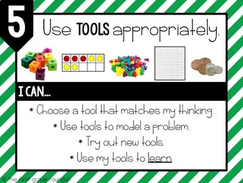Standards for Mathematical Practices Posters