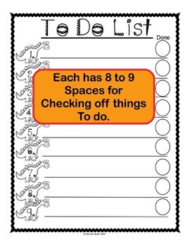 Kid Friendly To Do Lists to Help Kids Get Organized and Get Things Done