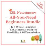 ESL/ELL Beginners Bundle 3-Pack