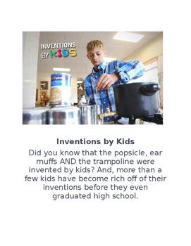 #SmallBusinessSaturday Kid Inventors