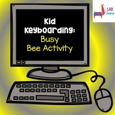 Kid Keyboarding: Busy Bee Activity