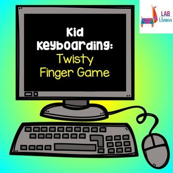 Kid Keyboarding: Twisty Finger Game