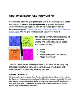 Kid Led Worship Vol. 1: CREATION