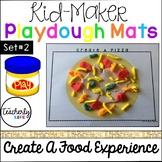 Kid-Maker Playdough Mats - Create A Food Experience 2