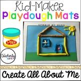 Kid-Maker Playdough Mats - Create All About Me