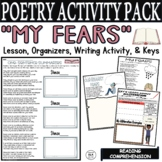 Kid Poetry Activities Worksheets Alliteration Middle School Poems about Fear