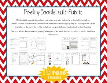 Kid Poetry Notebook