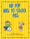 Kid Pop Back to School Pack