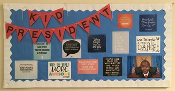Kid President Bulletin Board