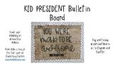 Kid President Bulletin Board