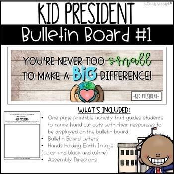 Kid President Bulletin Board Kits