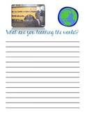 Kid President Pep Talk Reflection Printable FREEBIE