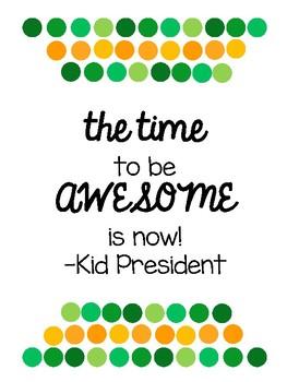 Kid President Posters