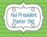 Kid President Quote Poster Set