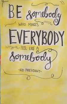 Kid President Quote - Print