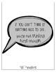 Kid President Quotes / Motivational Posters / Black & White / Plain Background