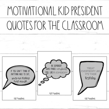 Kid President Quotes Motivational Posters Black White Plain