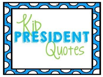 Kid President Quotes-Polka Dot Frame