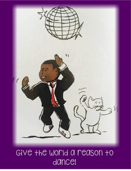 Kid President Themed Poster--Give the World a Reason to Dance