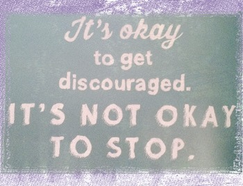Kid President Themed Poster--It's Not Okay to Stop